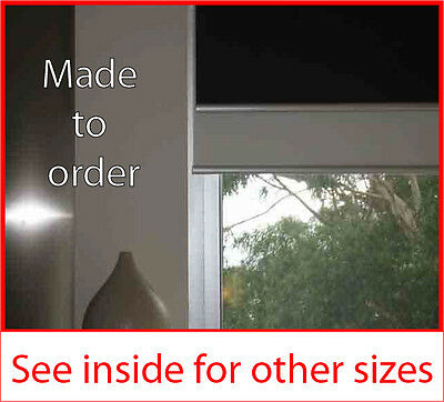 Dual holland roller blind 1200mm w x 1800mm d various colour