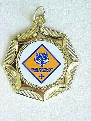 Cub Scouts  Scouting  Medal New! Award With Neck Ribbon