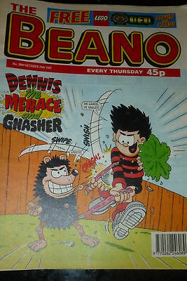 THE BEANO Comic - ISSUE 2884 - Date 25/10/1997 - UK paper comic