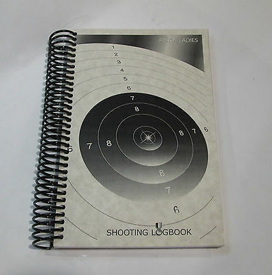 Women Pistol Shooting Logbook / 10 Meters Shooting/ Keep your scores