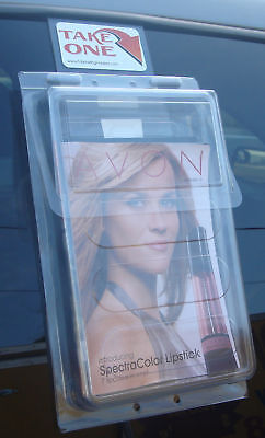 Bi Fold Outdoor Vehicle Brochure Holder Avon Mary Kay