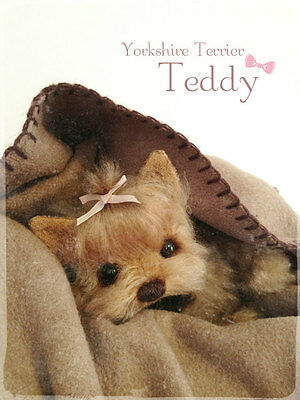 Mohair/ Bear Yorkie Sewing Pattern 8,5 inch