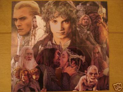 Lotr Masterpieces 2 - Etched Foil Card Set