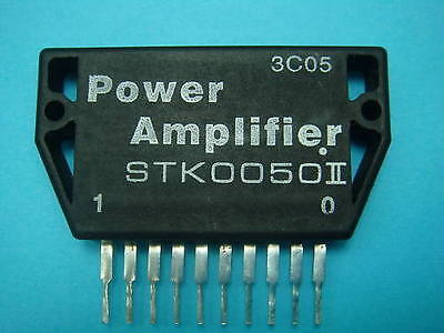 1 Sanyo Output Stage Of Power Amplifier Stk0050-Ii