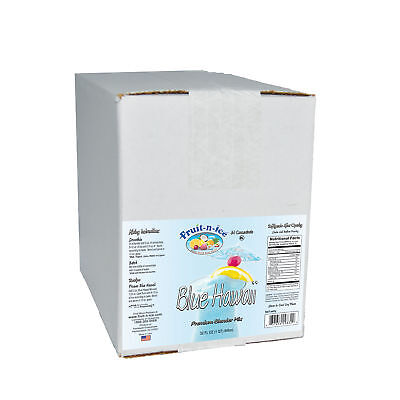 Fruit-N-Ice - Blue Hawaii Blender Mix 6 Pack Case FREE SHIPPING