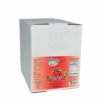 Fruit-N-Ice - Strawberry  Blender Mix 6 Pack Case  FREE SHIPPING