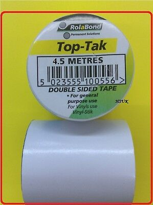 50Mm X 4.5M Carpet Diy Double Sided Tape Roll Adhesive Ultratape Rhino Sticky