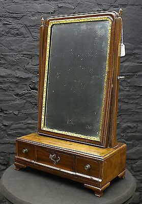 Antique Mahogany Dressing Table Mirror (Gil:0235)