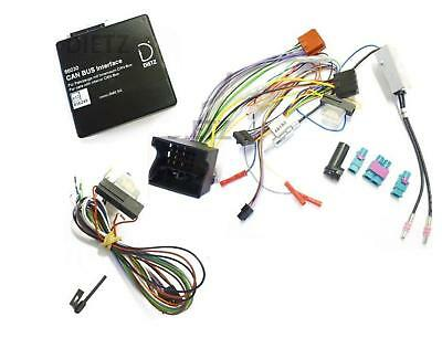 Lenkrad Interface CanBus Adapter Set für Opel Astra H Clarion JVC Radio 66030