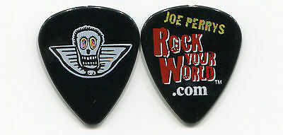 AEROSMITH 2001 Push Play Tour Guitar Pick!!! JOE PERRY custom concert stage #10