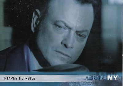 CSI New York Season 1 Trading Card Set (72 Cards)