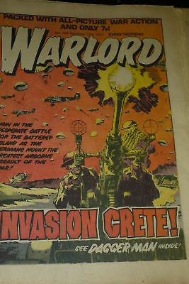 WARLORD Comic - Issue 168 - Date 10/12/1977 - UK Paper Comic