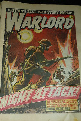 WARLORD Comic - Issue 194 - Date 10/06/1978 - UK Paper Comic