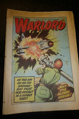 WARLORD Comic - Issue 349 - Date 30/05/1981 - UK Paper Comic