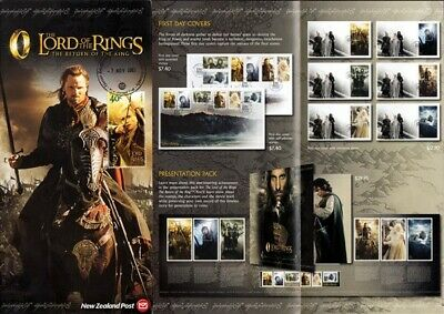 New Zealand Lord Of The Rings 2003 Brochure (Id:75/D4680)