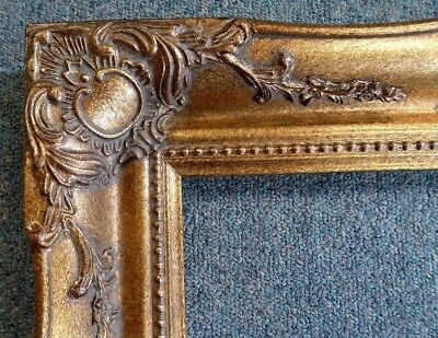 Picture Frame- 11x14-Vintage Antique Style Ornate Dark Gold Bronze Baroque #512C