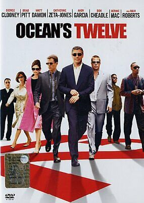 Ocean's Twelve - 12 DVD WARNER HOME VIDEO