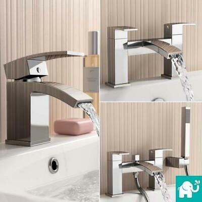 Annabel Bathroom Taps Chrome Sink Cloakroom Basin Bath Filler Shower Mixer