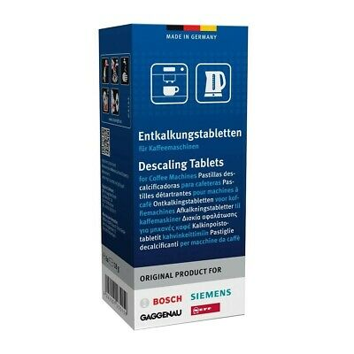 6 DESCALING TABLETS for BOSCH, SIEMENS, GAGGENAU, NEFF, COFFEE MACHINES
