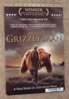 GRIZZLY MAN promo art card