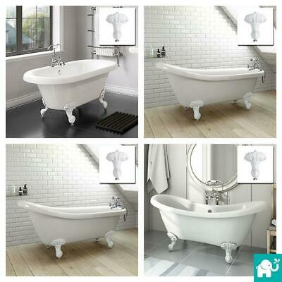 Traditional Luxury Freestanding Roll Top Bath Tub Feet