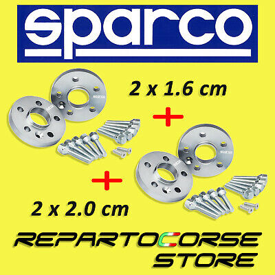 DISTANZIALI SPARCO 16 + 20 mm FORD FOCUS II MONDEO KUGA