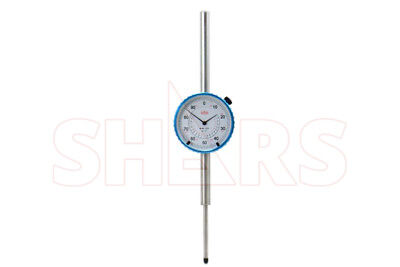 "Shars 2"" High Precision Dial Indicator .001"" Agd 2 Graduation Lug Back New"