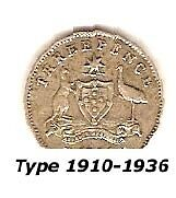 Australian Sterling Silver Threepence - 1925