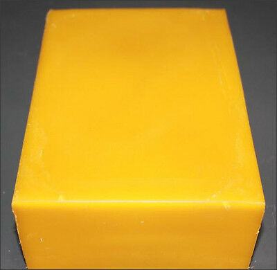 1 - 2 Pound Block Of 100% Filtered Premium Beeswax