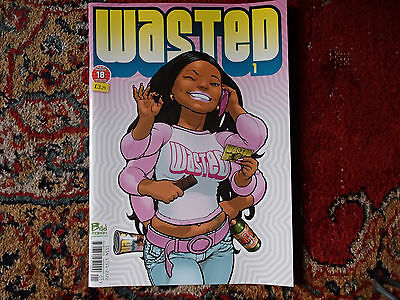 WASTED MAGAZINE No.1 - New - Rare - Comics -Alan Grant