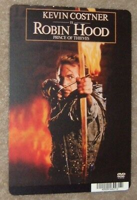 ROBIN HOOD PRINCE OF THIEVES art card KEVIN COSTNER