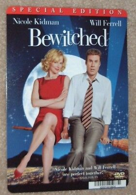 BEWITCHED promo art card NICOLE KIDMAN