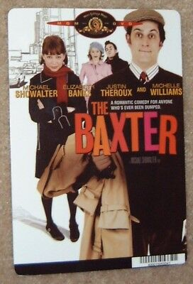 THE BAXTER promo art card MICHELLE WILLIAMS