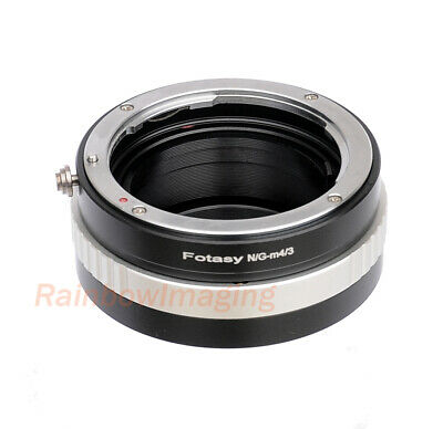 Nikon G AFS Lens to Micro M4/3 M4/3 Adapter Aperture Control