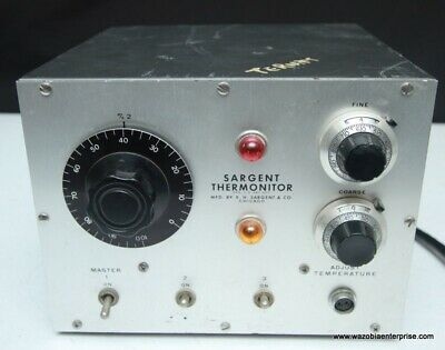 E.h. Sargent & Co Sargent Thermonitor S-W