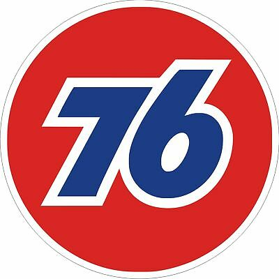 Vintage Union 76 Gas Gasoline Decal - The Best
