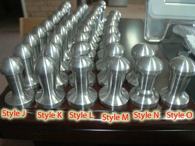 700g COFFEE TAMPER Style L - 100% 304 S/S 58mm NEW !!