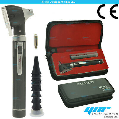 YNR Mini Otoscope Fiber Optic LED Medical Diagnostic Examination NHS CE Approved