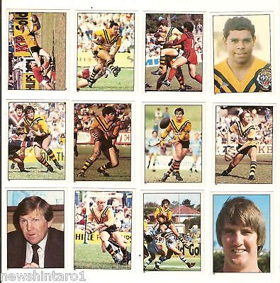 1983 Rugby League Stickers -  Balmain