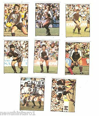 1983 Rugby League Stickers - Penrith Panthers