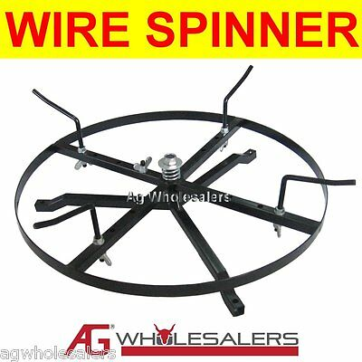 Wire Spinner Dispenser - Steel Wire Electric Fence Fencing Reel