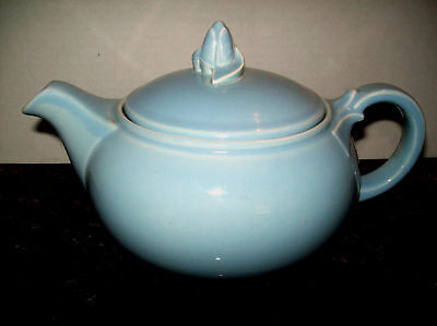 1940 TS&T LU-RAY PASTELS WINDSOR BLUE TEAPOT RARE