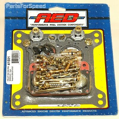 AED Holley 41501 Rebuild Kit Double Pumper Carb 650 750 850 950 1000