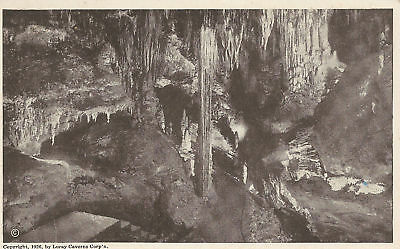 Postcard  Swiss Cottage Way Caverns of Luray VA