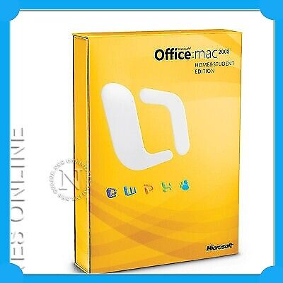 MICROSOFT OFFICE MAC 2008 Home&Student Ed + Bonus Mouse
