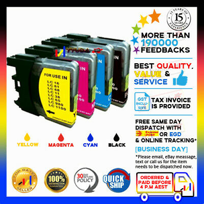 30x INK LC-39 for BROTHER DCP J125 J315w J515w PRINTER