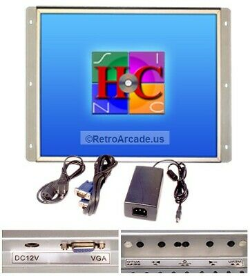 """17"""" Arcade Game LCD Monitor for Arcade Cabinets - MAME"""