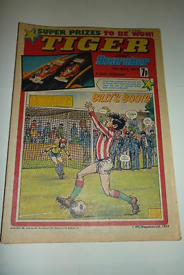 TIGER & SCORCHER - Year 1977 - Date 14/05/1977 - Inc Blackpool poster