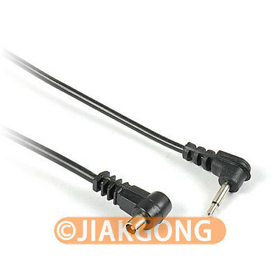 "12"" 12 inch 2.5mm to Male FLASH PC Sync Cable Cord"
