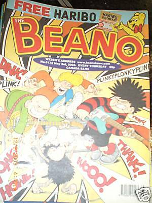 THE BEANO Comic - Issue No 3172 - Date 03/05/2003 -  UK COMIC